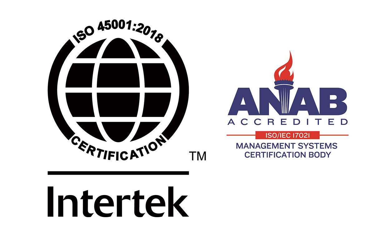 GF Linamar Certification ISO 45001